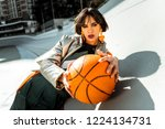 displaying street fashion....   Shutterstock . vector #1224134731