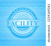 facility sky blue water wave...   Shutterstock .eps vector #1224169261