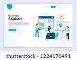 modern flat design concept of... | Shutterstock .eps vector #1224170491