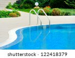 Swimming Pool With Stair At...