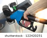 close up of a mans hand... | Shutterstock . vector #122420251
