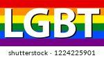 lgbt  lesbian  gay  bisexual  ... | Shutterstock .eps vector #1224225901
