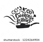 hand drawn typography poster....   Shutterstock .eps vector #1224264904