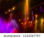 stage lights. several... | Shutterstock . vector #1224267757