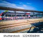 cullera  spain   11 01 2018  a...   Shutterstock . vector #1224306844
