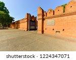 tha phae gate  tourist... | Shutterstock . vector #1224347071
