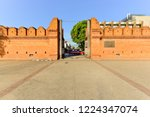 tha phae gate  tourist... | Shutterstock . vector #1224347074
