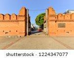 tha phae gate  tourist... | Shutterstock . vector #1224347077