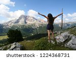 south tyrol  italy   5 07 18 ... | Shutterstock . vector #1224368731