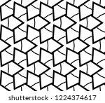 seamless modern vector... | Shutterstock .eps vector #1224374617
