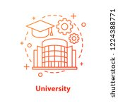 university concept icon. high... | Shutterstock .eps vector #1224388771