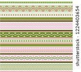 texture knitted. winter... | Shutterstock .eps vector #1224403654