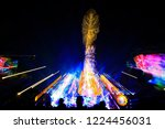 stage lighting effect in the... | Shutterstock . vector #1224456031