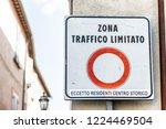 zona traffico limitato  limited ...   Shutterstock . vector #1224469504