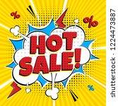comic lettering hot sale  in... | Shutterstock .eps vector #1224473887