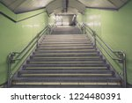 stairs. subway staircase old in ... | Shutterstock . vector #1224480391