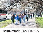washington dc  usa   march 9 ... | Shutterstock . vector #1224483277