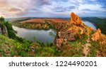 picturesque canyon of the... | Shutterstock . vector #1224490201