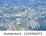 aerial of tampa bay | Shutterstock . vector #1224506371