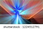 bright different random lights  ... | Shutterstock . vector #1224512791