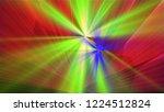 bright different random lights  ... | Shutterstock . vector #1224512824