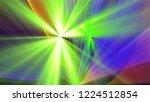 bright different random lights  ... | Shutterstock . vector #1224512854