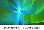 bright different random lights  ... | Shutterstock . vector #1224514084