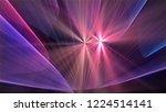 bright different random lights  ... | Shutterstock . vector #1224514141