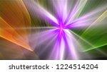 bright different random lights  ... | Shutterstock . vector #1224514204
