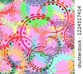 vector seamless texture of... | Shutterstock .eps vector #1224517414