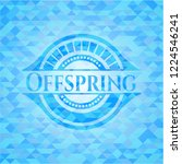 offspring realistic sky blue... | Shutterstock .eps vector #1224546241