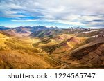 top of the world  himalayan... | Shutterstock . vector #1224565747