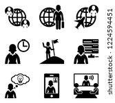 business women   international... | Shutterstock .eps vector #1224594451