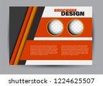 flyer  brochure  billboard... | Shutterstock .eps vector #1224625507