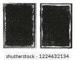 grunge frame background... | Shutterstock .eps vector #1224632134