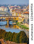 florence  italy   october 2018  ... | Shutterstock . vector #1224649954