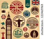 Travel Icons. Travel Stickers...