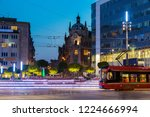 main square in katowice at... | Shutterstock . vector #1224666994