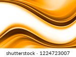 bright gold and white modern... | Shutterstock . vector #1224723007