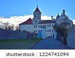 renaissance castle in brenz at... | Shutterstock . vector #1224741094