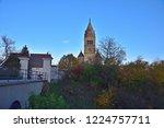 purely romanesque st. gallus... | Shutterstock . vector #1224757711