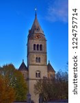 purely romanesque st. gallus... | Shutterstock . vector #1224757714