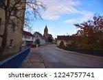 purely romanesque st. gallus... | Shutterstock . vector #1224757741