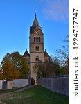 purely romanesque st. gallus... | Shutterstock . vector #1224757747