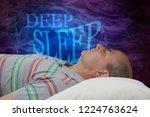 deep sleep awareness campaign... | Shutterstock . vector #1224763624