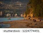 a sunset moment in stanley park ...   Shutterstock . vector #1224774451