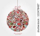 christmas background | Shutterstock .eps vector #122478487