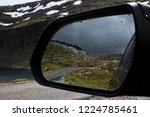reflection of mountains and... | Shutterstock . vector #1224785461