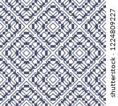 vector geometric traditional... | Shutterstock .eps vector #1224809227