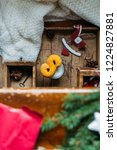 swedish christmas. gluten free...   Shutterstock . vector #1224827881